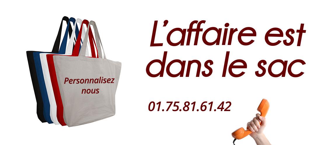 sac publicitaire en coton