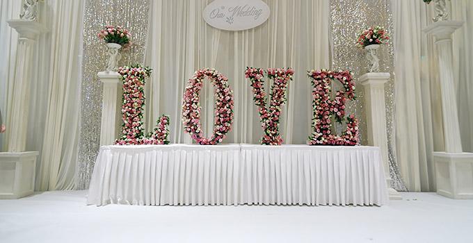 deco mariage avec des fleurs