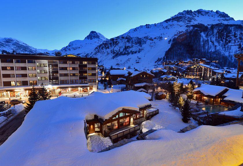 Le Tsanteleina hotel de luxe à Val d'Isère