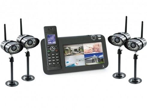 kit videosurveillance sans fil 4 caméras