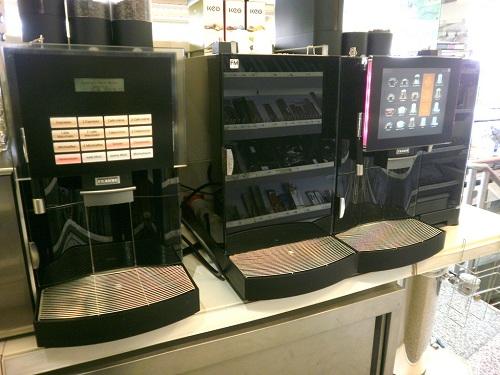 machine à café libre servie
